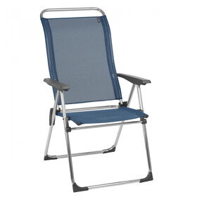 Lafuma Mobilier Alu Cham Camping Chair with Cannage Phifertex, ocean